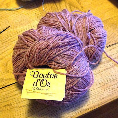 Bouton D'Or perenne - such a beautiful yarn!